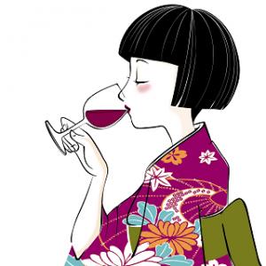 七五三出張撮影お宮参り比較おすすめ320お酒を飲む女性