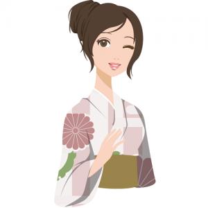 岐阜女性出張撮影七五三お宮参りおすすめ比較浴衣の女性
